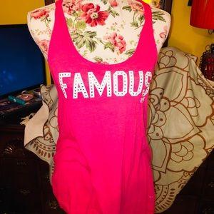 VS Pink Famous Bling Tank